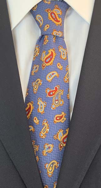 New Old Ties - Dolce Vita Blu - D'Ambrosio Couture