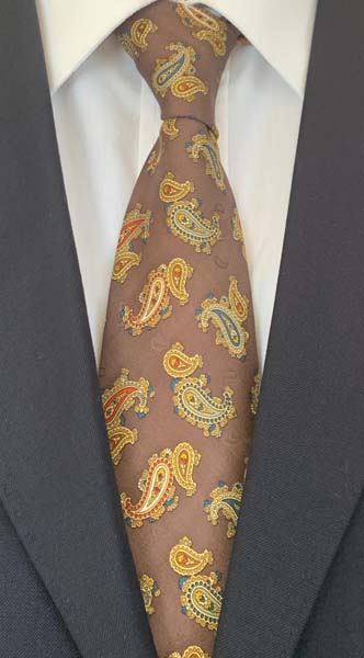 New Old Ties - Dolce Vita Marrone - D'Ambrosio Couture