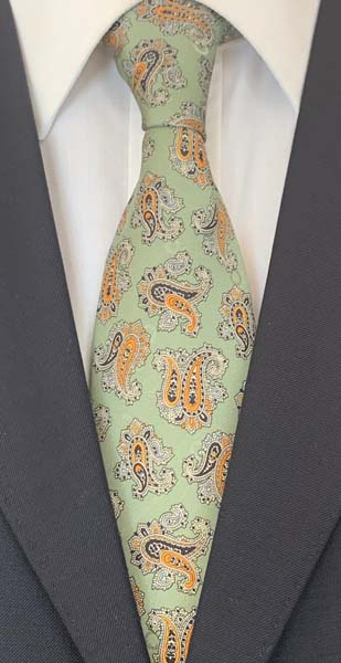 New Old Ties - Dolce Vita Verde - D'Ambrosio Couture