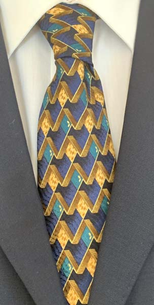 New Old Ties - Porto Fino Blu - D'Ambrosio Couture