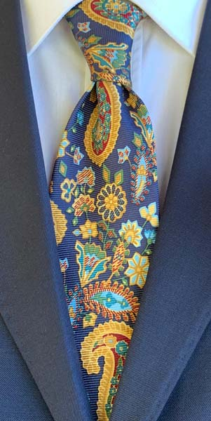 New Old Ties - Positano Blu - D'Ambrosio Couture