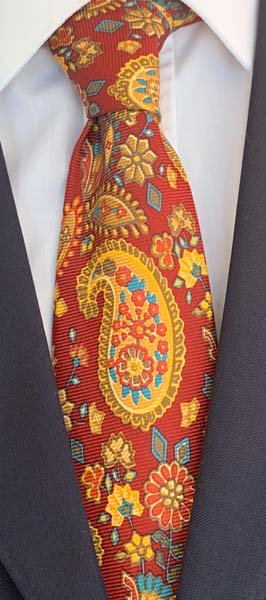 New Old Ties - Positano Rossa - D'Ambrosio Couture