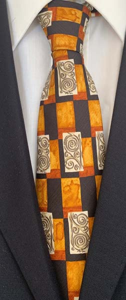 New Old Ties - Roma Blu - D'Ambrosio Couture