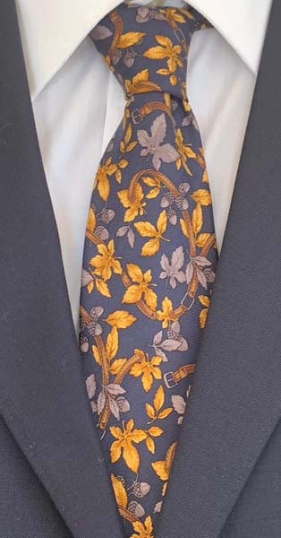 New Old Ties - Venezia Blu - D'Ambrosio Couture