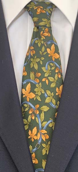 New Old Ties - Venezia Verde - D'Ambrosio Couture